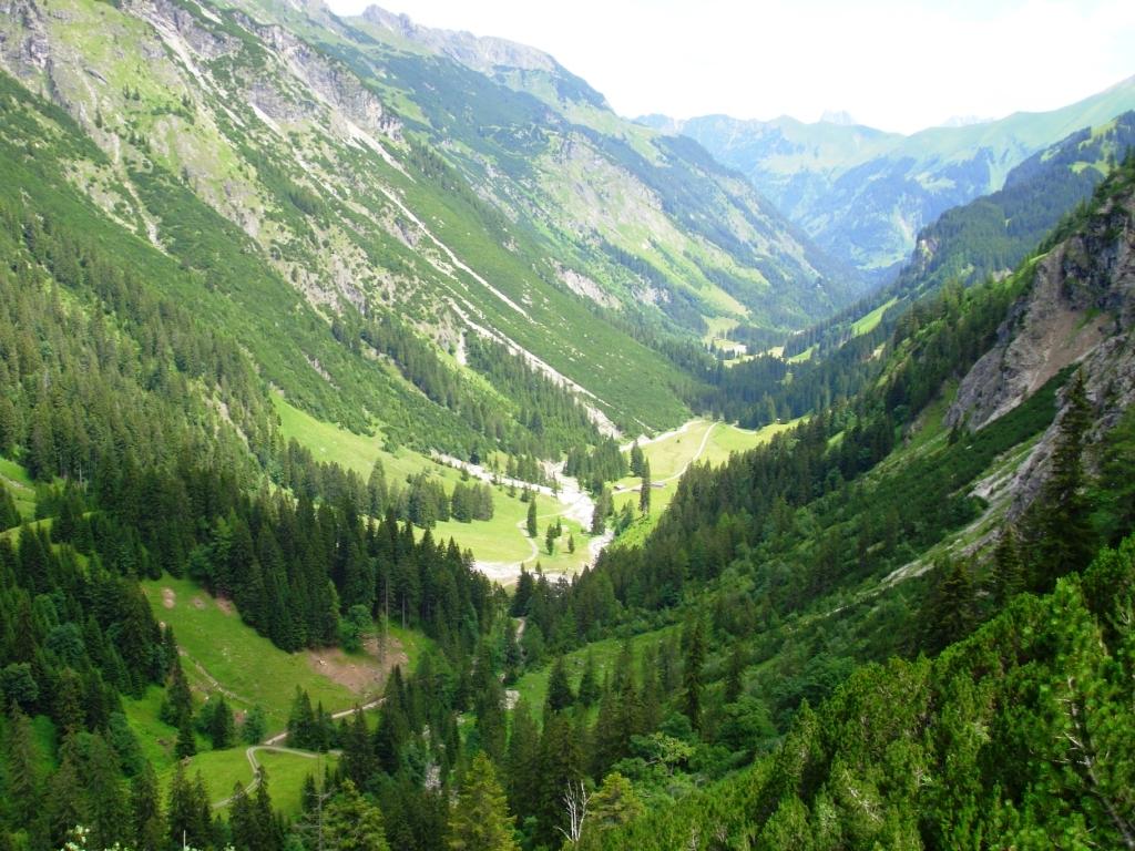 Blick zurück Richtung Oberstdorf