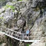 Die Leiter am Schrofenpass